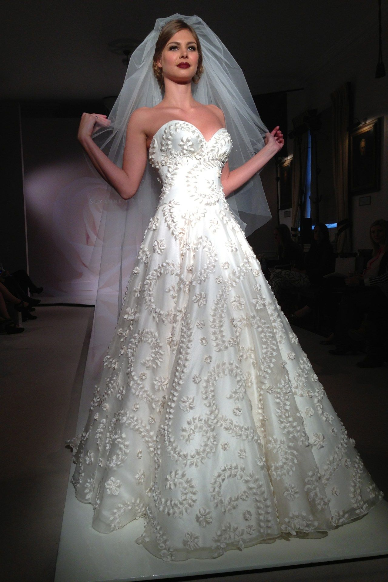 A Standout by Suzanne Neville, 2014 Vintage Rose Bridal Collection