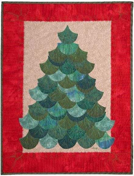 Quilt Inspiration: 12 days of Christmas trees Quilts to make Pinterest Christmas tree ...