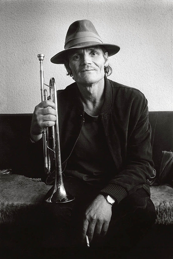 Chet Baker in Belgium, 1983.