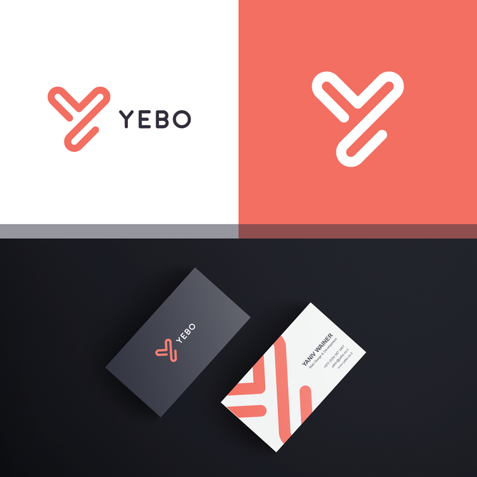 Create a cool and attractive logo business card for yebo web design create a cool and attractive logo business card for yebo web design reheart Image collections