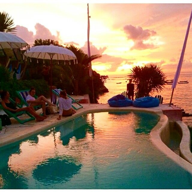 Lovely time to enjoy fascinating view of Sunset in Nusa Ceningan, Le Pirate Beach club @lepiratebeachclub. Love it! ============================== Photo by imarasophia Thanks for sharing. NOTE : KEEP BALI CLEAN IF WANT TO REGRAM FROM THIS PAGE PLEASE MENTION @fascinatingbali & PHOTO'S OWNER. THANKS ============================== Visit our Site (link on Bio) Keep use hashtag #fascinatingbali to allow Us feature your moment in Bali ============================== #nusaceningan #lepirate #sunset…