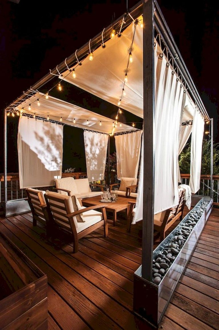 34 comfy backyard patio deck designs ideas for relaxing on modern deck patio ideas for backyard design and decoration ideas id=93464