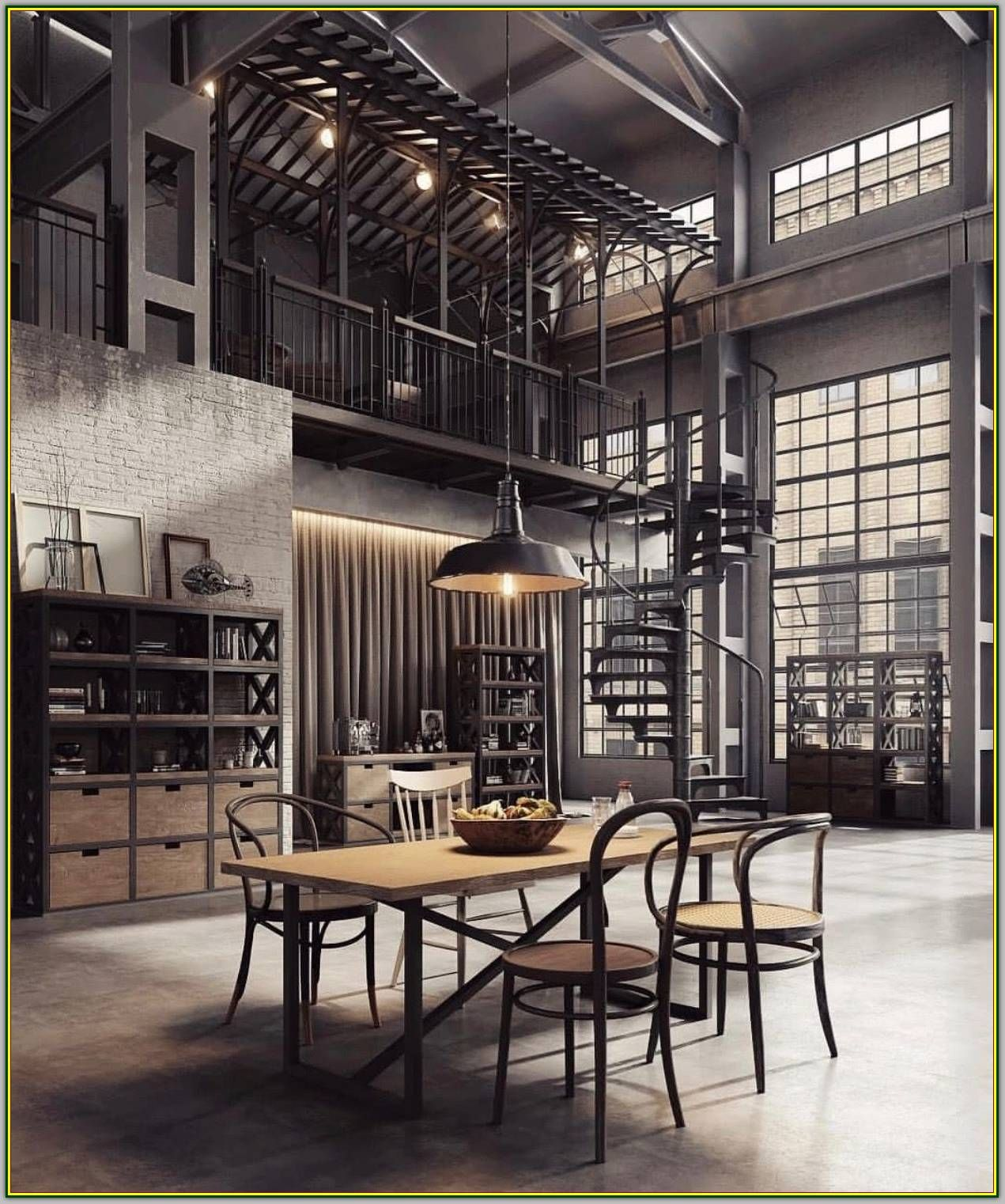 Things You Must Know When It Comes To Living Room Interior Design Modern Interior Design Urban Industrial Decor Industrial Interior Design Industrial Style Kitchen