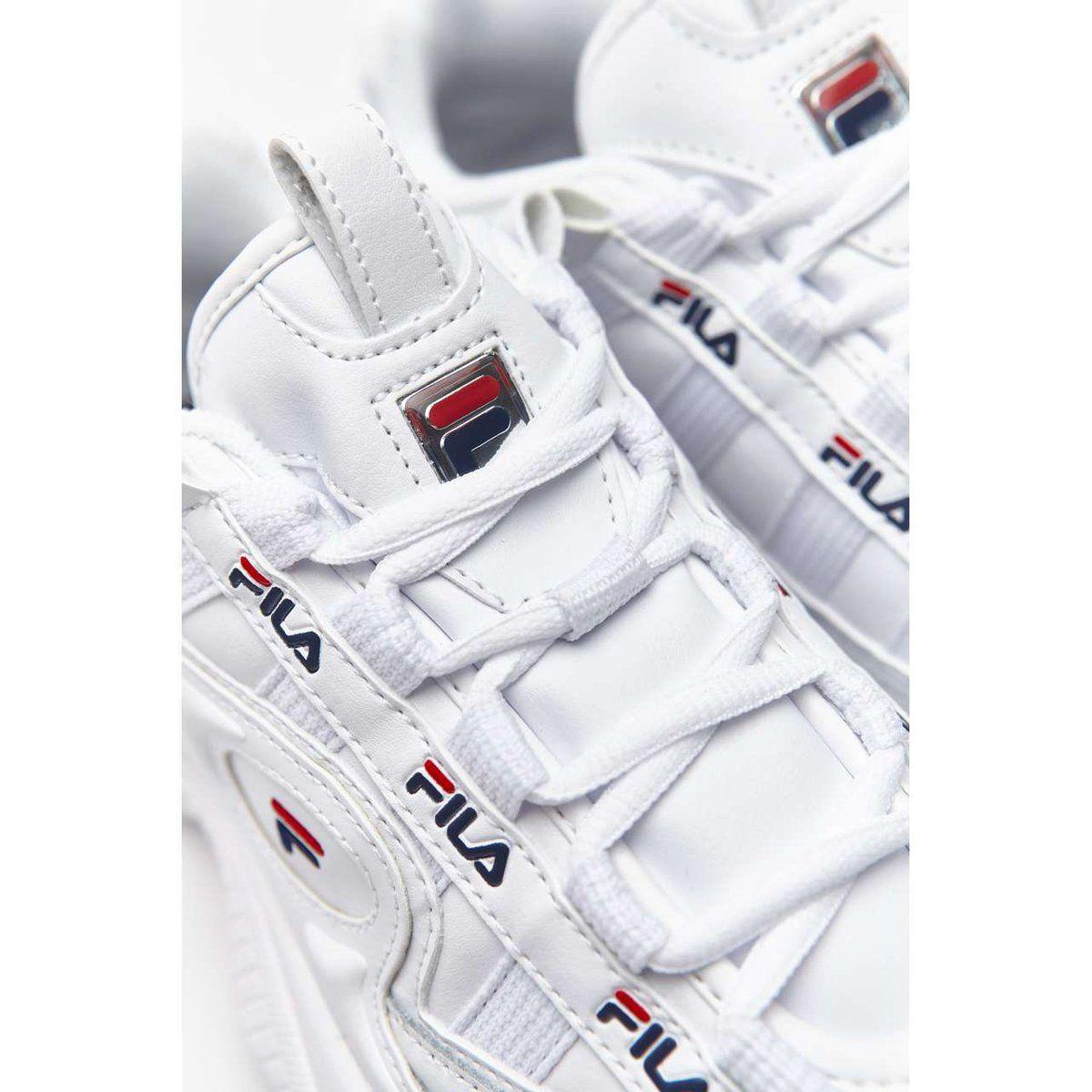 Sportowe Damskie Fila Biale D Formation Wmn 125 White Fila Navy Fila Red White Sneaker Fila Sneakers