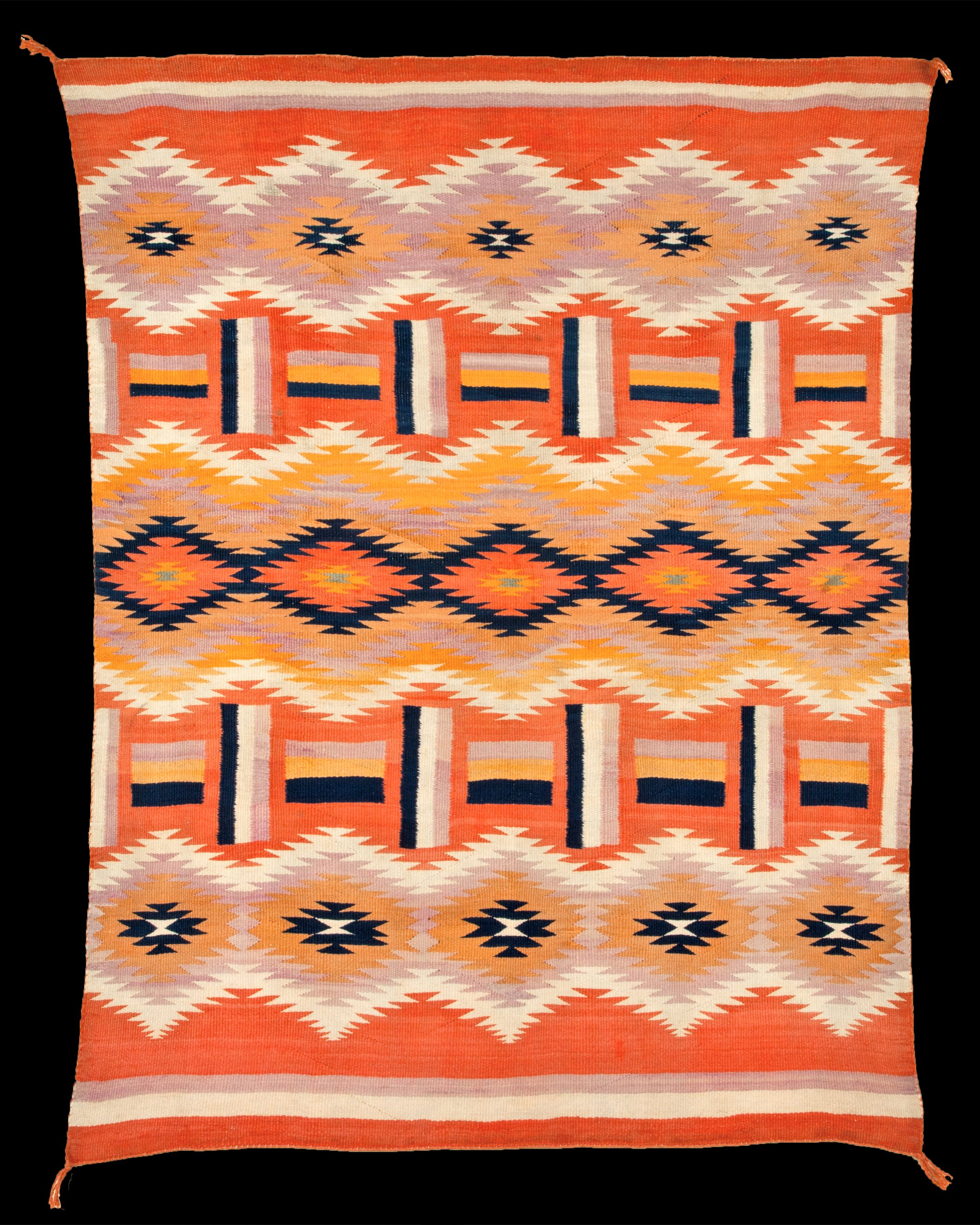 Navajo Rug For A Lesson On Pattern