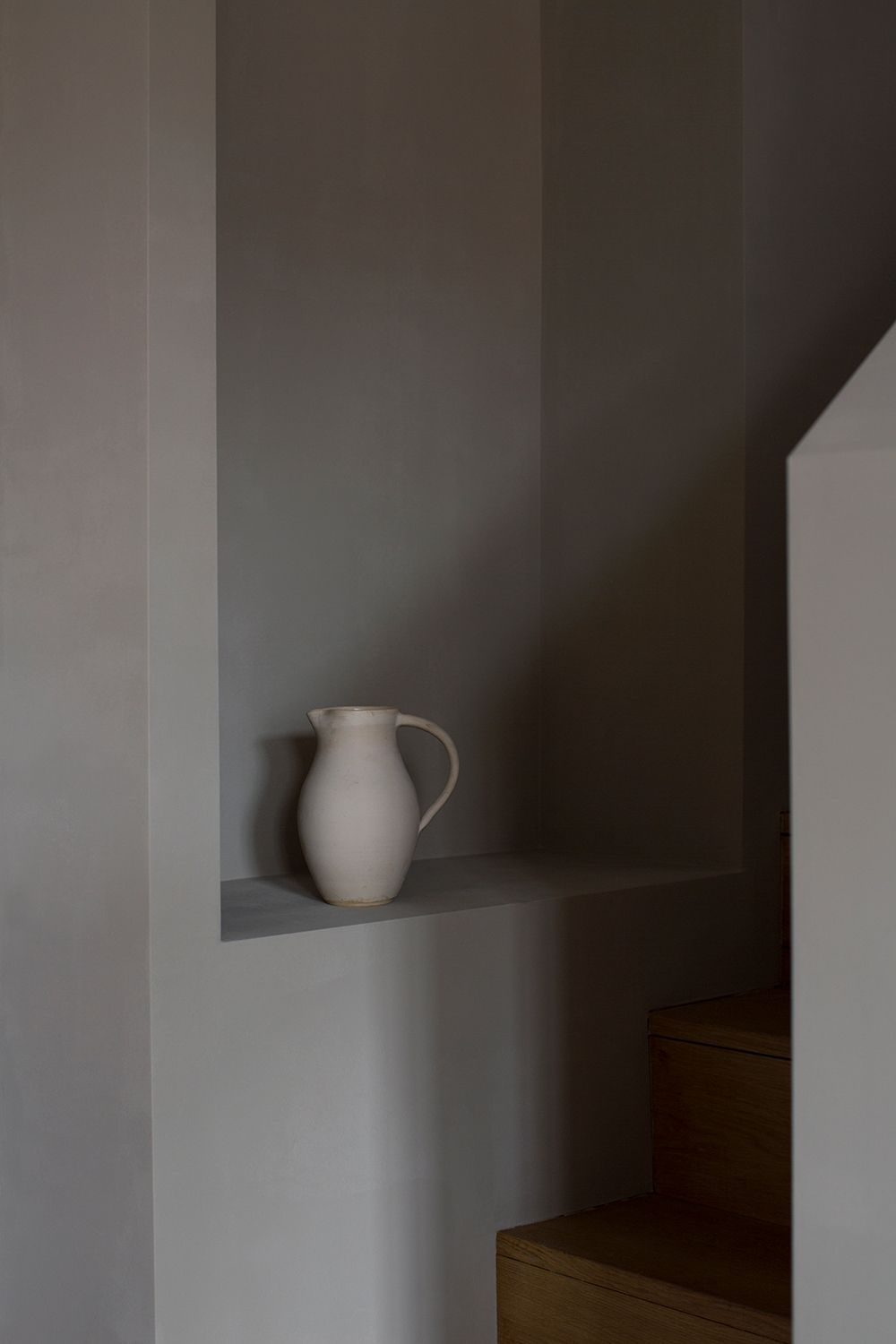 Our beautiful handmixed paint colours sabi grey is a deep soft