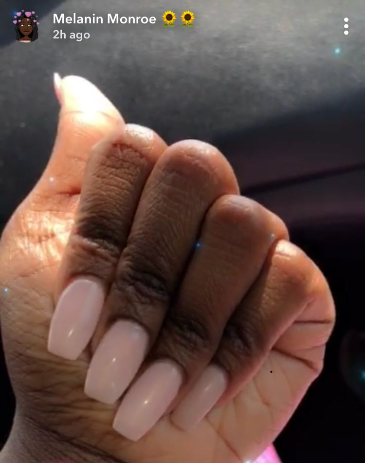 Opi Put It In Neutral Colors For Dark Skin Dark Skin Girls Dark Nails
