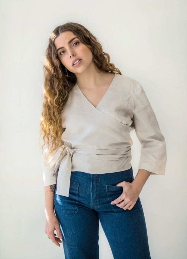 WRAP TOP - peppermint magazine