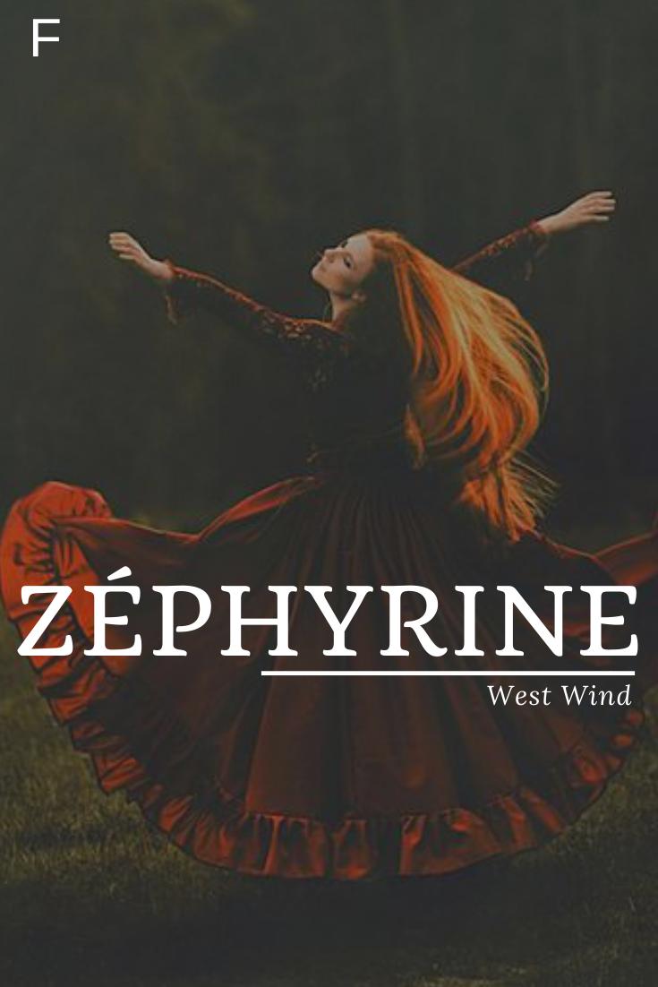 Zephyrin bedeutet Westwind #Zephyrin #baby namen französisch #baby namen meisje... #babynamesboy