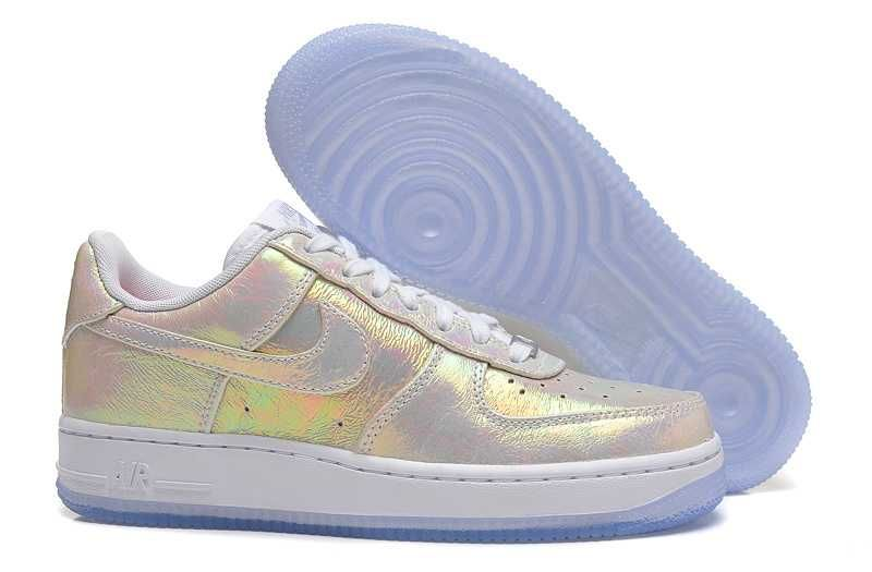 1830   Nike Air Force One Low Herr Metallic Silver Vit Metallic  SE358017vSypXwxi 597eeb64926