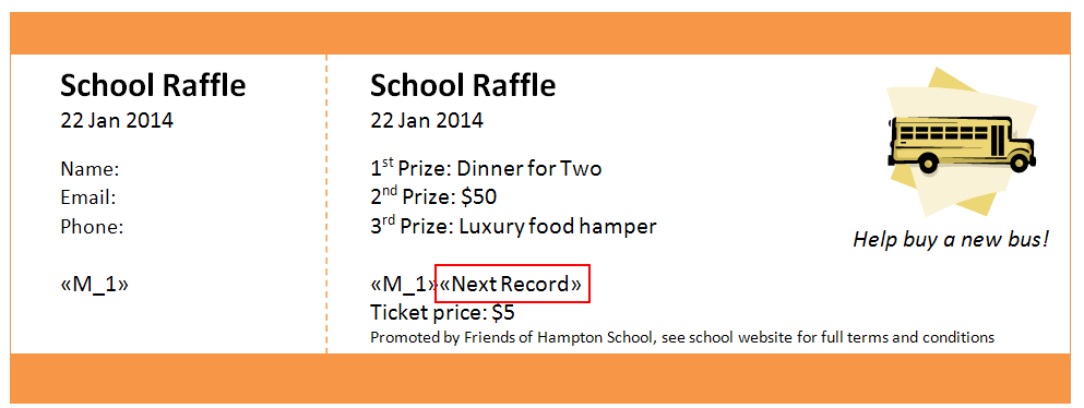 Numbered Raffle Ticket Template Free Raffle Ticket Creator Print Numbered Raffle Tickets At Home Using .