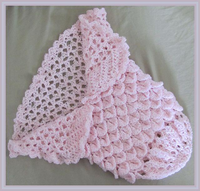 Ravelry: Sweet Princess Cocoon-ghan Crochet Pattern (Crocodile ...