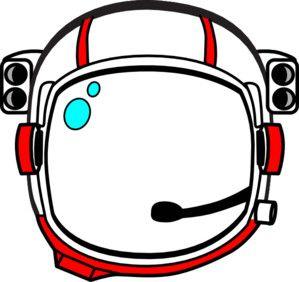 Red Astronaut Helmet Clip Art Astronaut Helmet Astronaut Craft