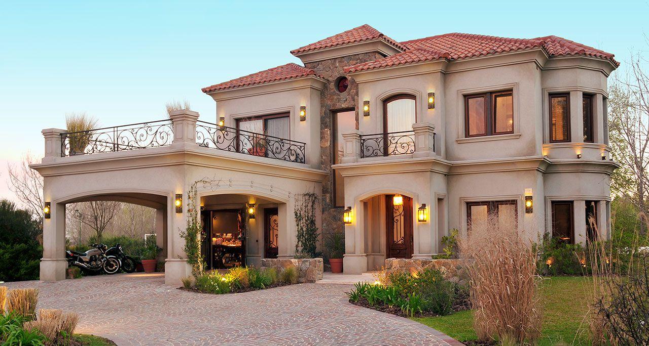Fernandez borda arquitectura fachadas de casas for Casa clasica moderna interiores