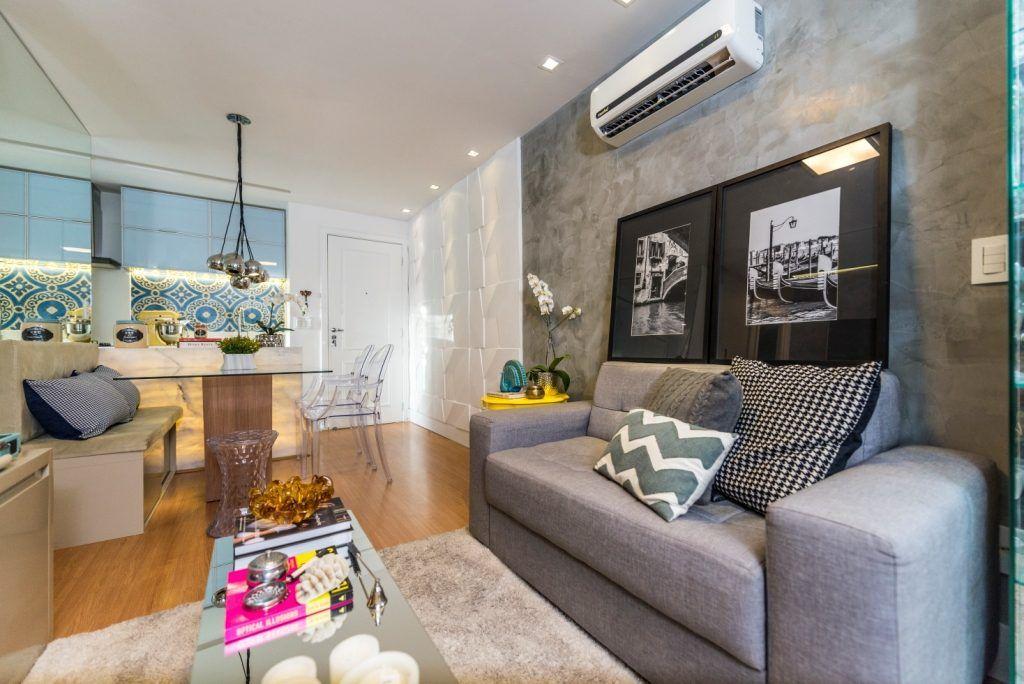 apartamento de 50m projeto de um apartamento pequeno com