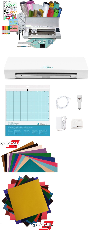 Silhouette Cameo 3 Vinyl Sheets Tools Pens Tutorials Siser Glitter HTV