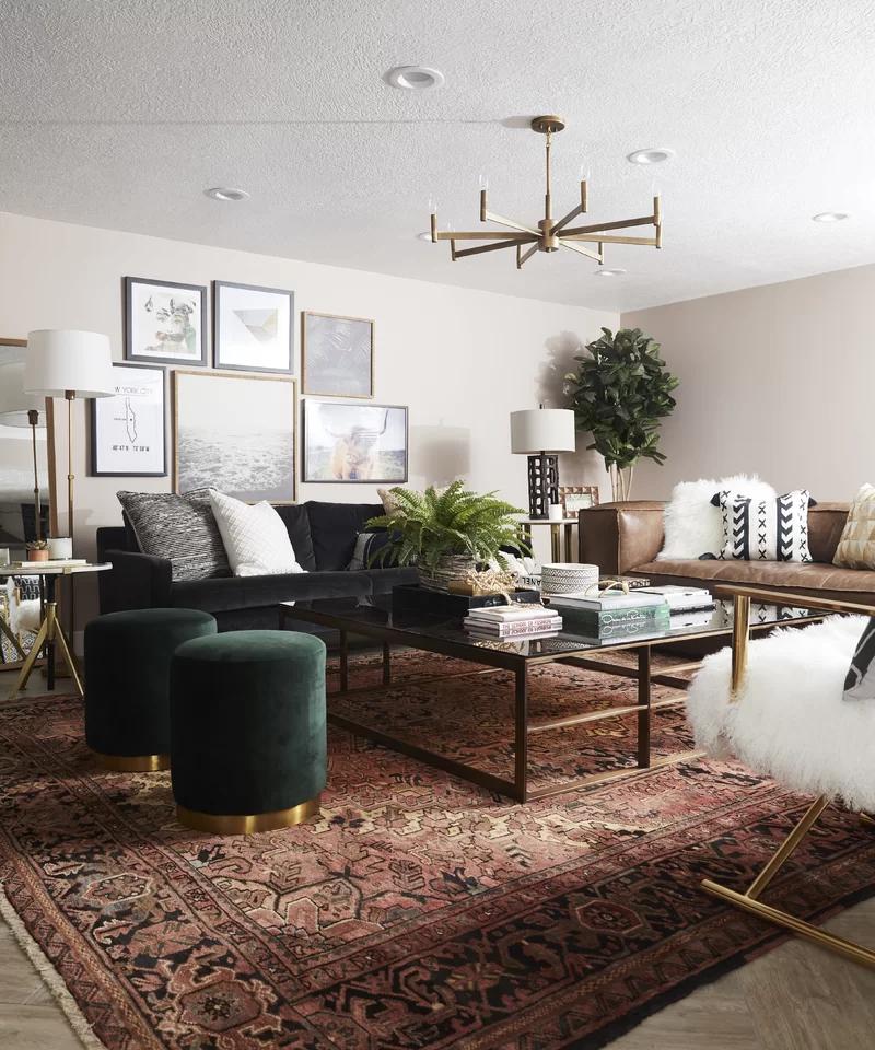 Ellaline Ottoman Reviews Allmodern Farm House Living Room Living Room Diy Living Room Decor Modern