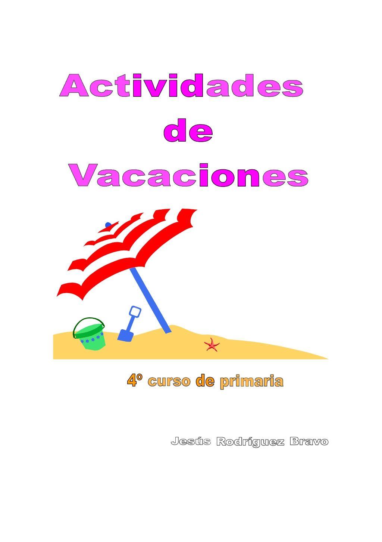 CUADERNO DE REPASO LENGUA DE 4º PRIMARIA | Actividades de