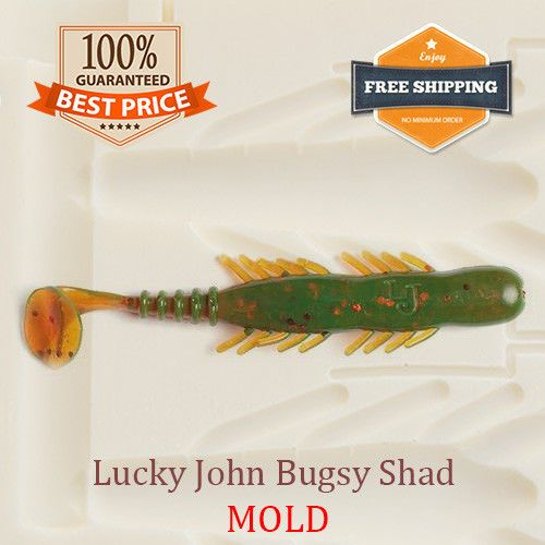 Details about Mold Lake Fork Live Baby Shad Bait Fishing Soft