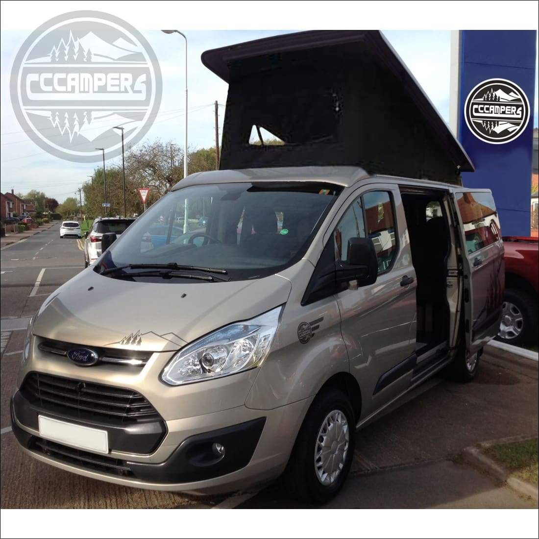 Severn Camper Conversion For The Ford Transit Custom By Cccampers
