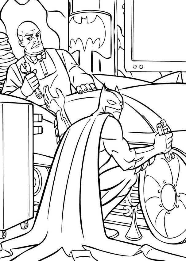 batmans batmobil coloring page color in this batmans batmobil coloring page enjoy fantastic coloring sheets