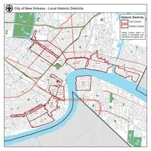 HDLC Map City of New Orleans PDFs available on the site listed
