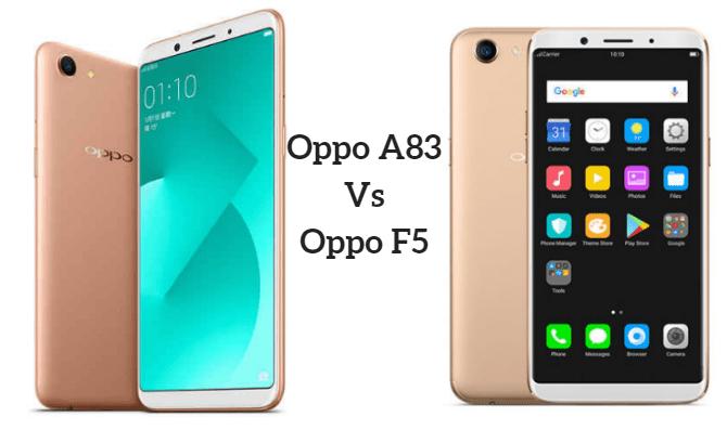 Compare : Oppo A83 Vs Oppo F5 | Compare Mobile | Phone