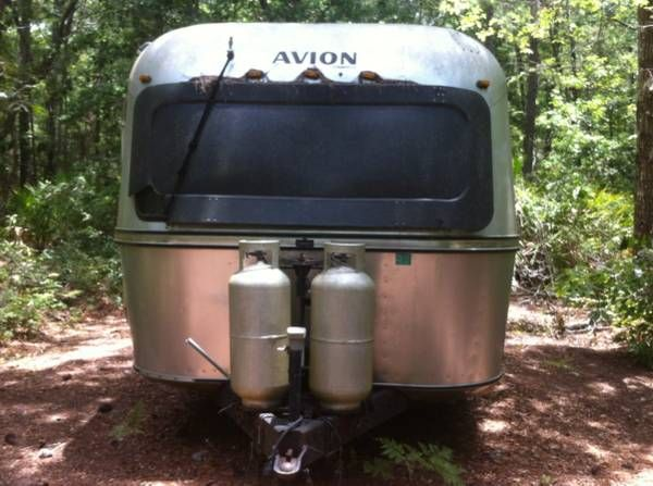 A 1979 Avion on my local Craigslist site. I could live in ...