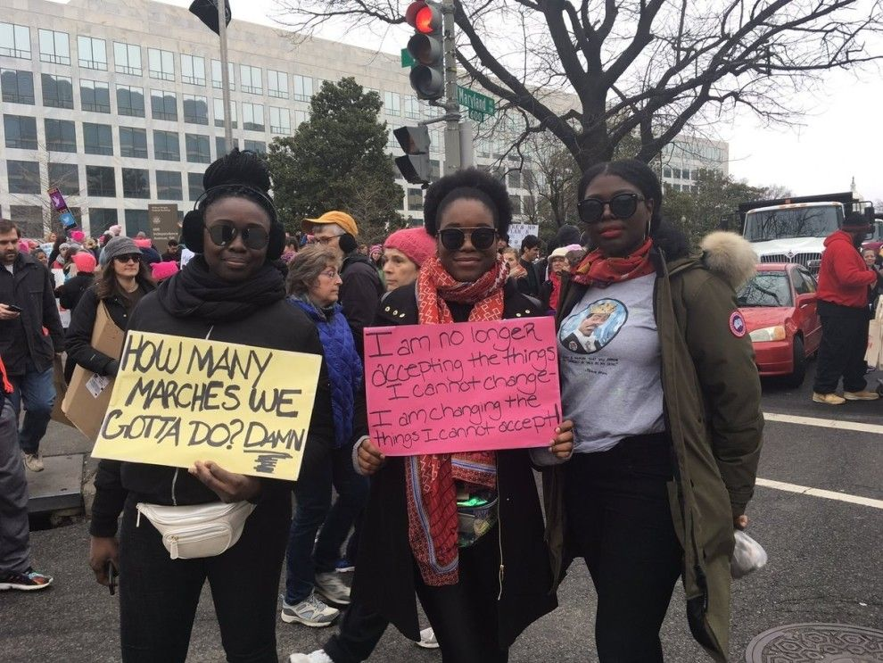 The Road Women Marched On This Weekend Was Paved By Black Resistance