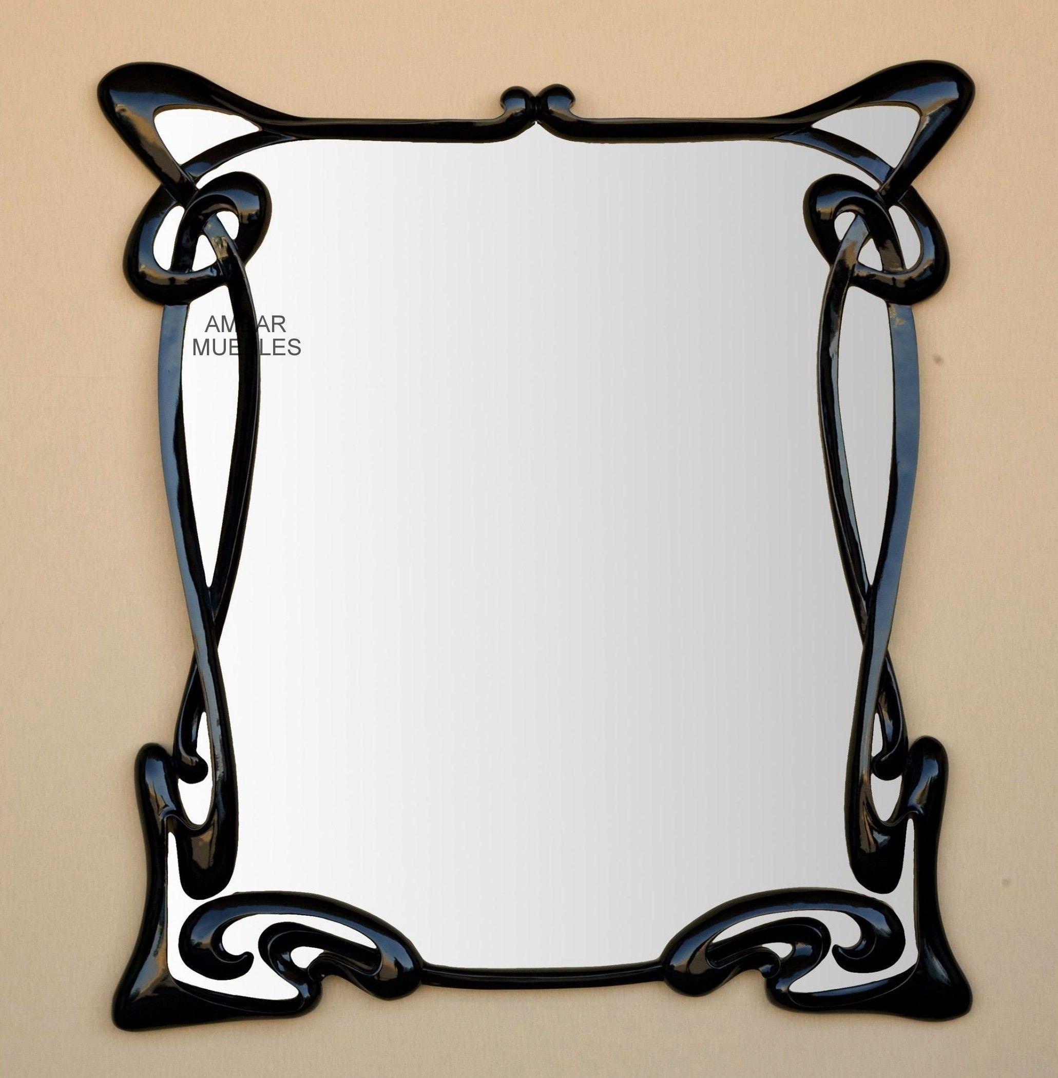 Art+Nouveau | Espejo Art Nouveau William - Espejos Art decó ...