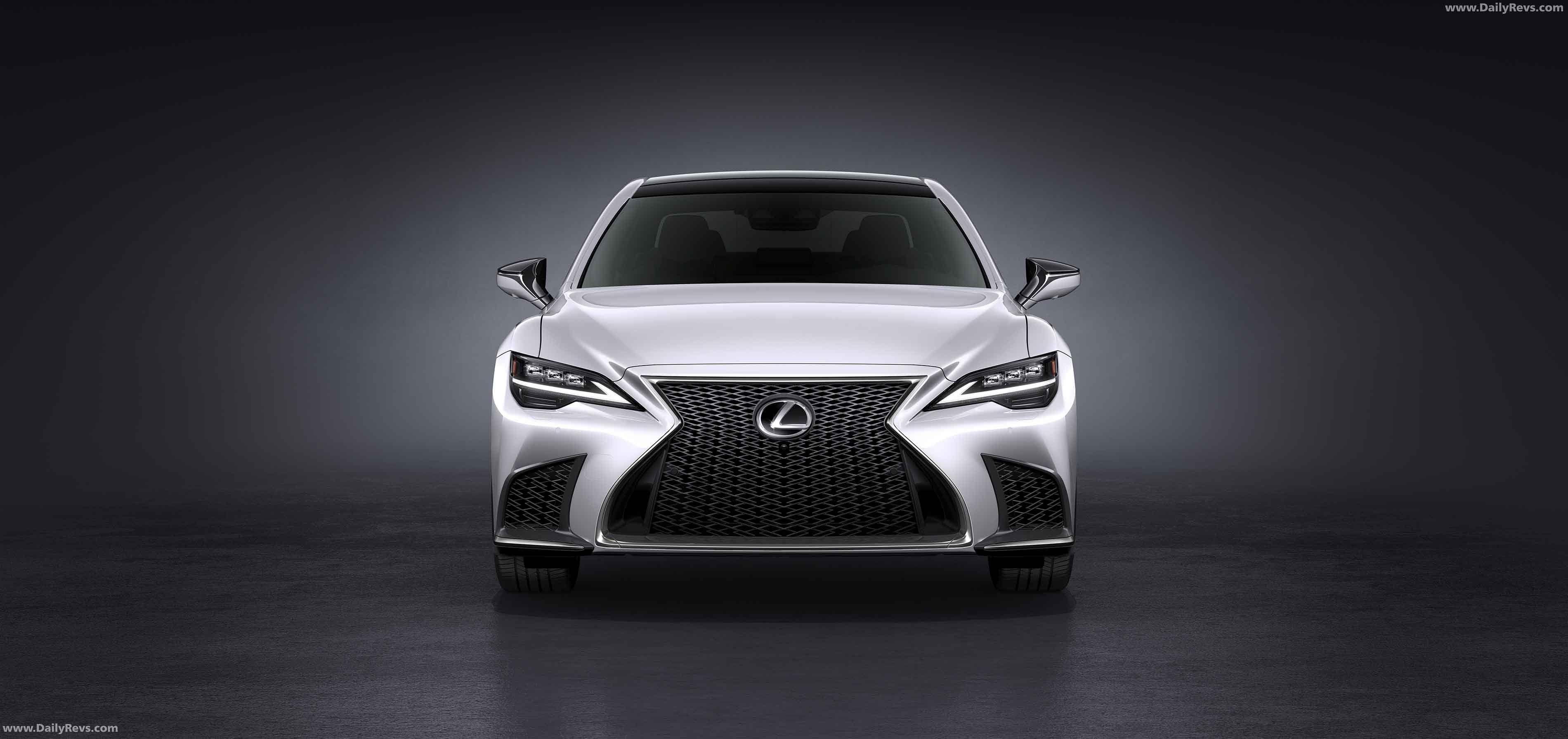2021 Lexus LS Dailyrevs in 2020 Lexus ls, Lexus, New lexus