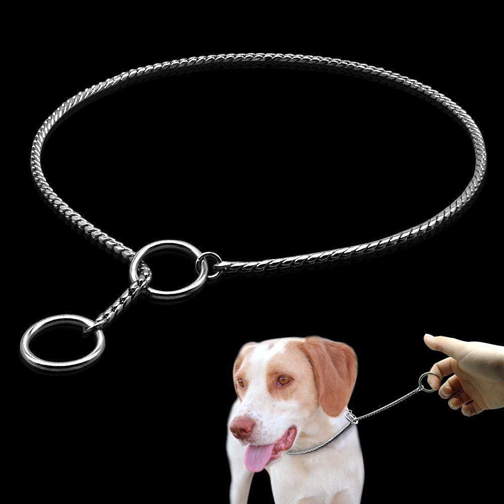 Dog Training Collars Snake P Slip Choke Collar Dog Training Collar
