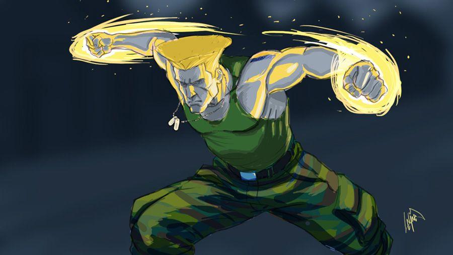 Guile Street Fighter Peetietang Deviantart Com Desenhos