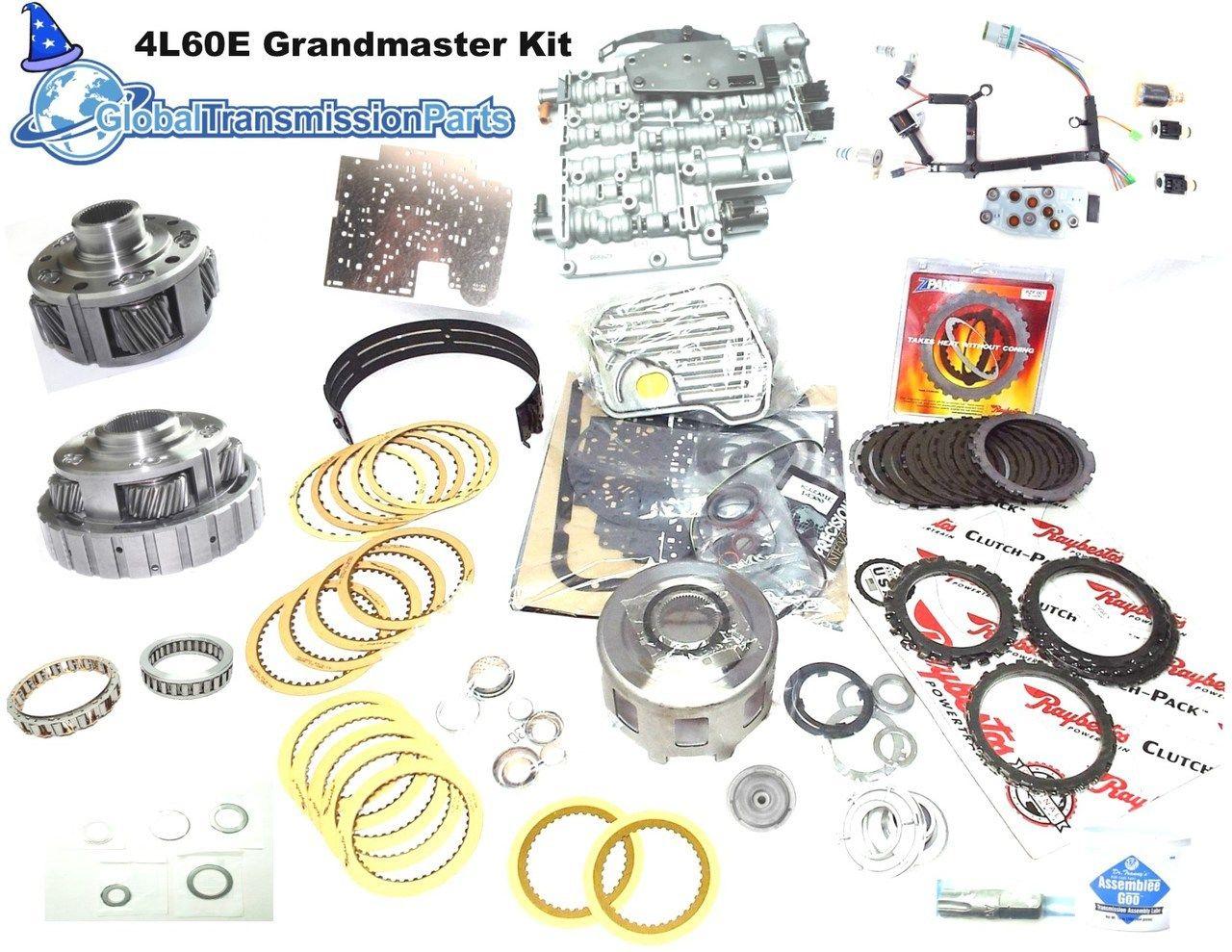 Complete 4l60e Mega Master Transmission Rebuild Kit 1993 1996 Monster Wiring Harness
