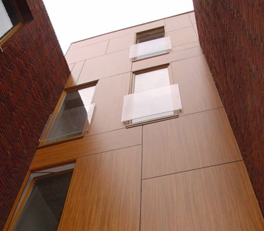 Exterior Building Panels By Abet Inc Basic Use Abet Laminati Meg Self Supporting High Pressure