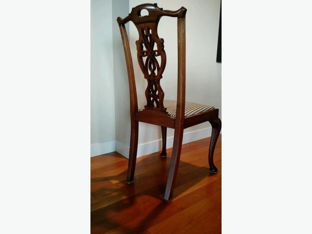 Mobili Chippendale ~ Antique chippendale chairs victoria city victoria mobile