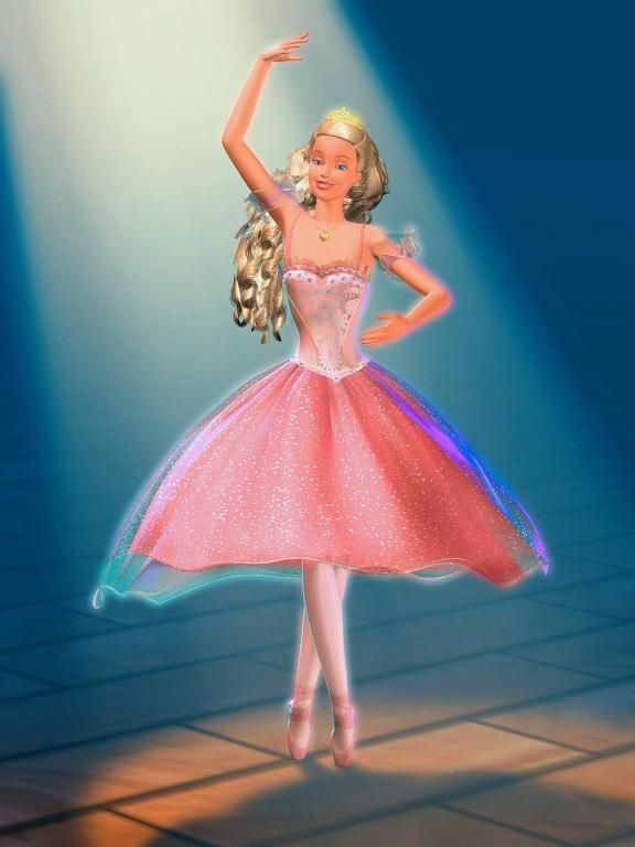 clara in barbie and the nutcracker if this was a ball
