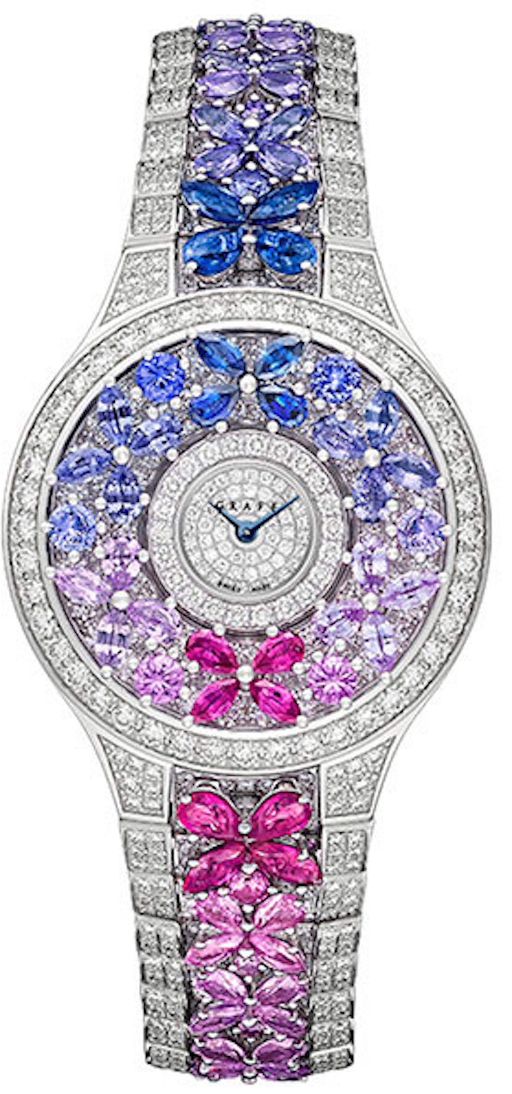 for set switzerland diamond ruby graff butterfly watches in red geneva