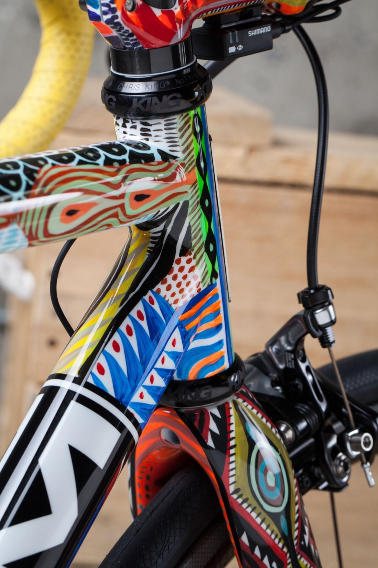 Bikeplanet Hand Painted Baum Corretto By Above Category With