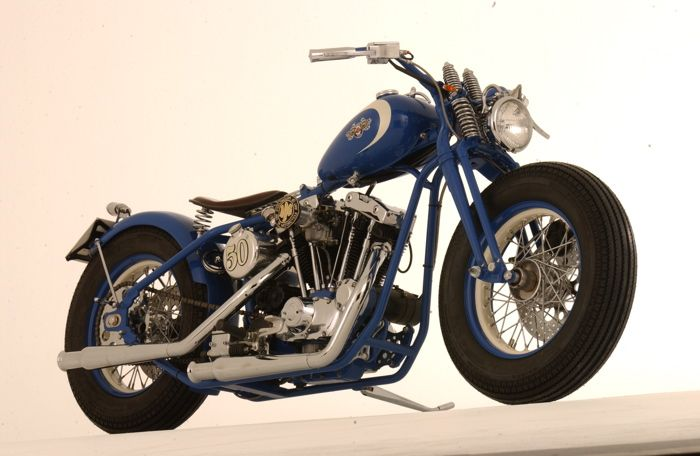 """Fifty"", Ironhead bobber"