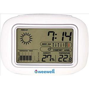 Weewell  Higro Termometre Whm120  Bebeklerinizin güvenliği ve birçok ihtiyaç duyulan elektronik aletleri ile dünya firmaları arasına ismini kazıyan Weewell şık tasarımları ile ihtiyacınıza uygun ürünler şimdi mağazalarımızda