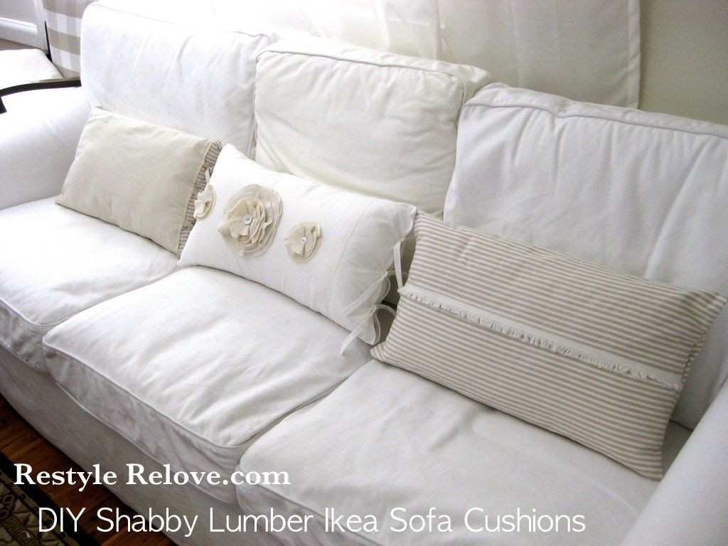 Couch Cushions Ikea In 2020 Shabby Chic Sofa Shabby Chic Chairs