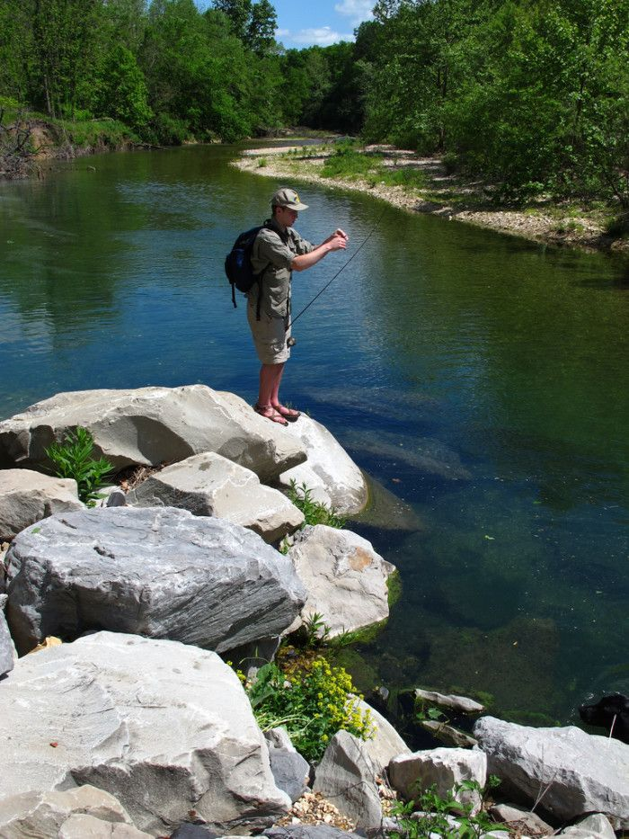 These 11 Amazing Spots In Oklahoma Are Perfect To Go Fishing Travel Oklahoma Cool Places To Visit Flint Creek