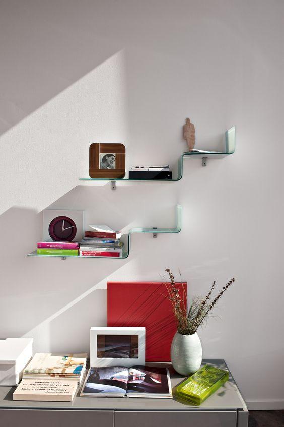 Room · CALLIGARIS | Step Glass Shelf.