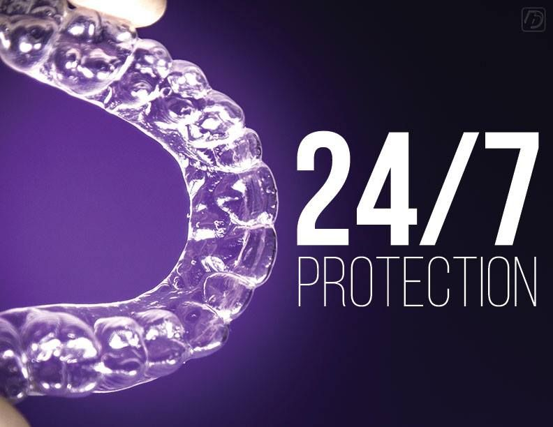 Don't to wear your retainer day and night