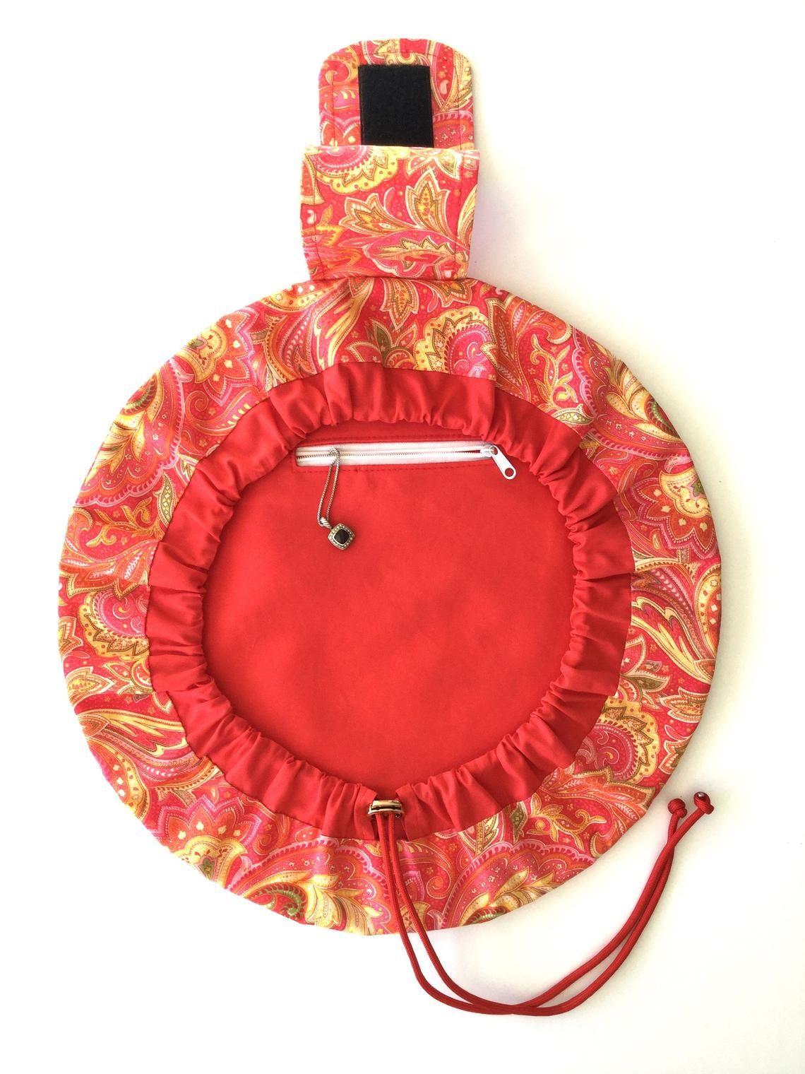 Makeup Bag Pattern, Drawstring Bag,Bag Pattern, Ana Cinch