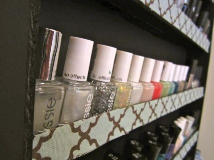 Great Instructions For Foam Board Nail Polish Rack Hobbies Time