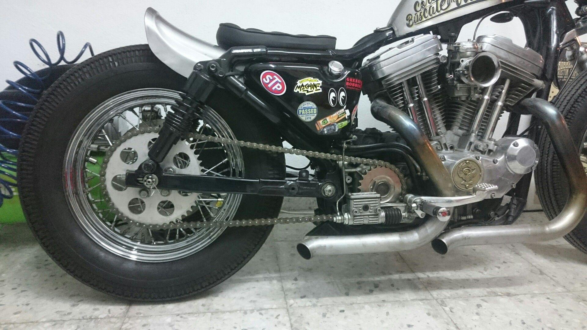 Custom Harley-Davidson XL Sportster 1991-2003   Frisco style