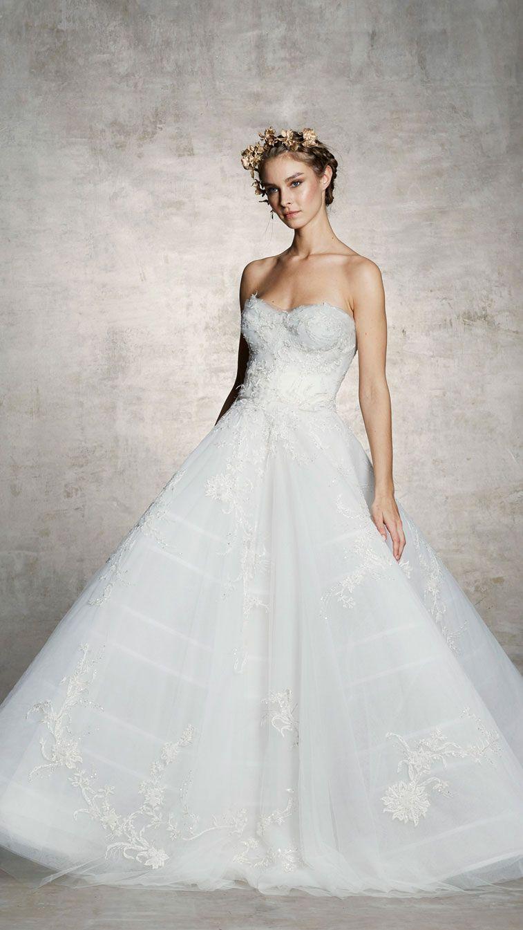 Marchesa spring bridal collection wedding pinterest