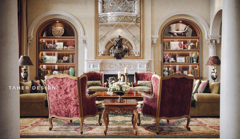 Luxury Mansion Interior Dubai